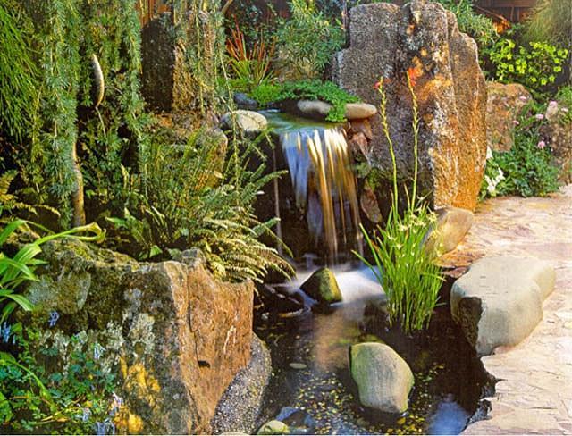 A Small Asian Backyard Goodman Landscape Design
