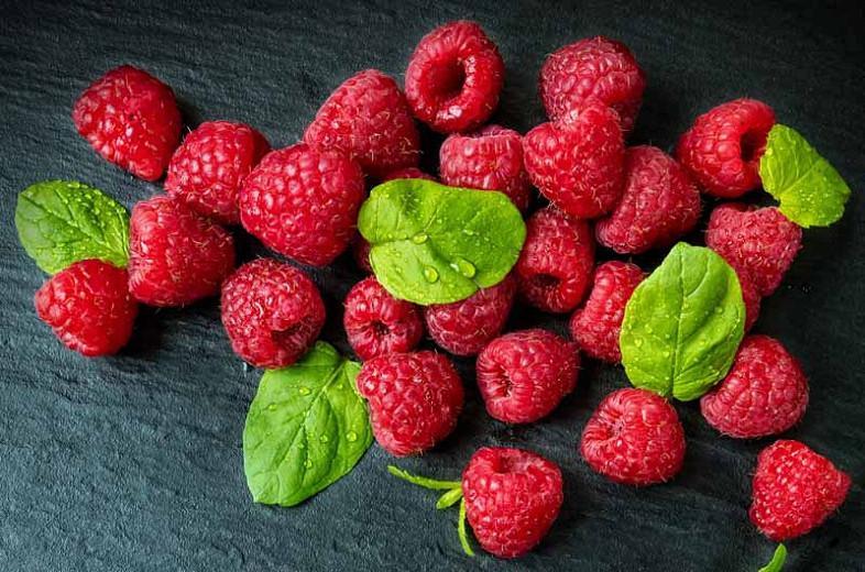 Rubus idaeus 'Boyne' (Summer Bearing Raspberry)