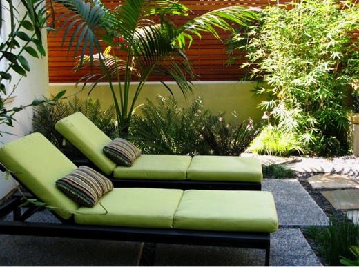 small space, Small backyard, Small Garden,Corner patio, gravel, pavers, Debora Carl Landscape Design,